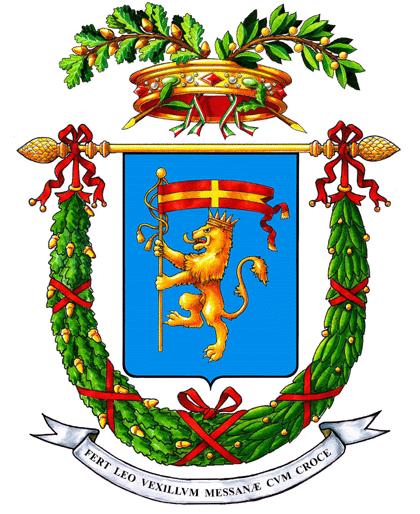 I simboli di messina il leone il gonfalone e lo stemma for Volantino despar messina e provincia