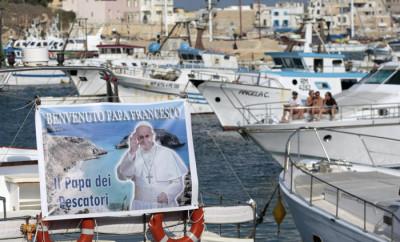 Lampedusa si prepara per la visita di Papa Francesco