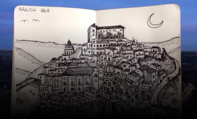 Live Sketch_RagusaIbla