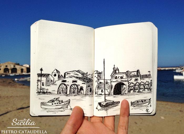 live_ sketch_marzamemi © Pietro Cataudella