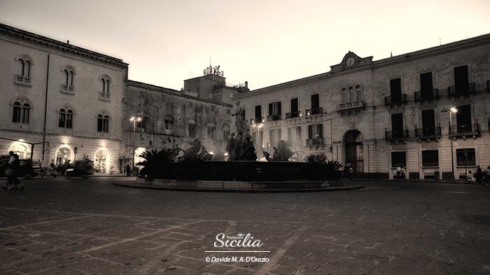 Piazza Archimede Siracusa © Davide d'Orazio