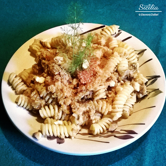 Il mare in tavola con la pasta con le sarde tradizioni sicilia - Il mare in tavola ...