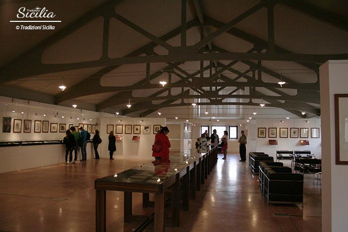 Racalmuto_Fondazione_Sciascia_sala superiore