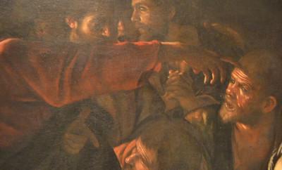 Caravaggio_Messina_la_Resurrezione_di_Lazzaro