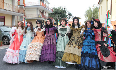 carnevale cattafi_le dame_angela bertino